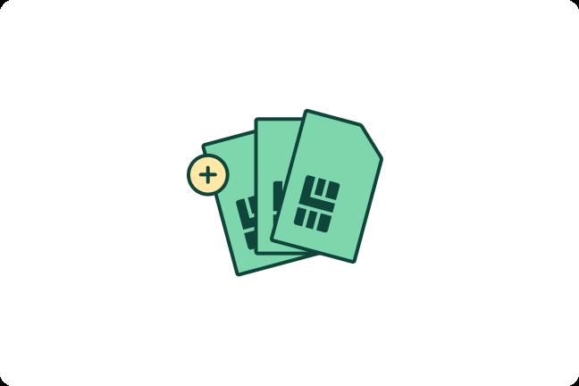 Datadelingskort